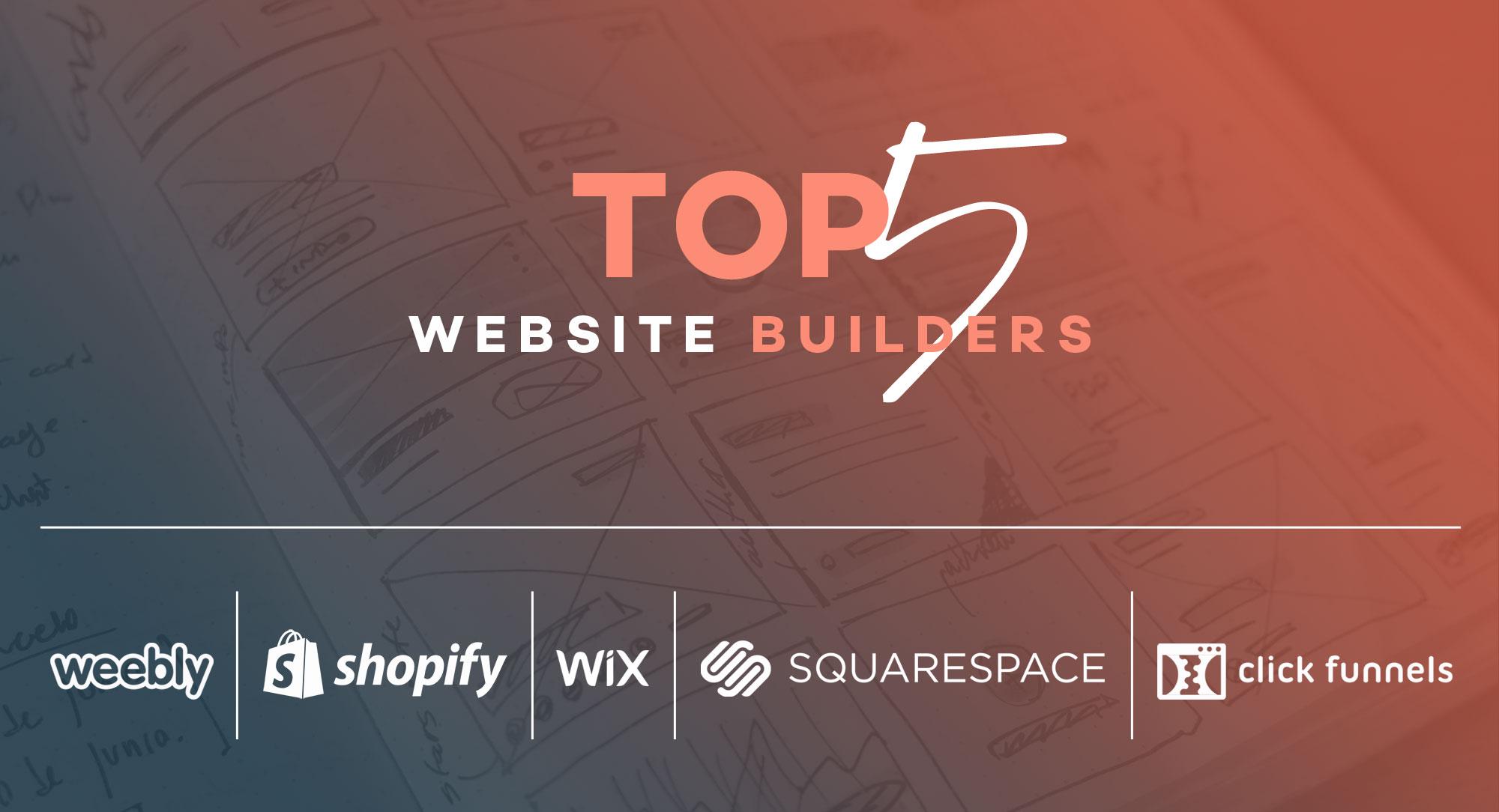 Top-5-website-builders