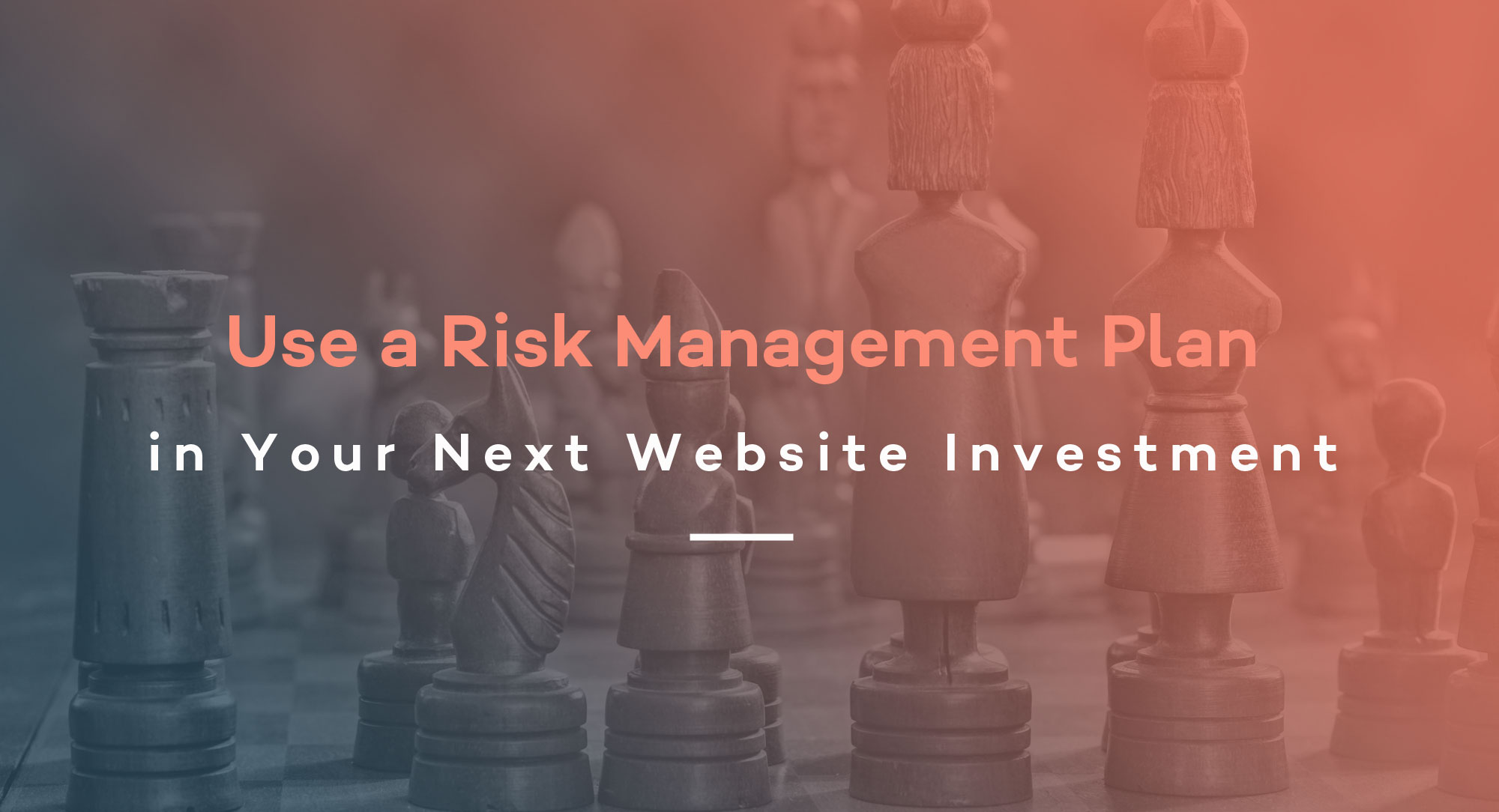 Use a Risk Management Plan in Your Next Website Investment